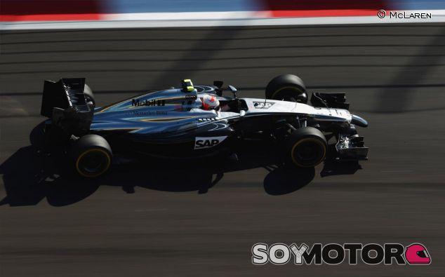 Kevin Magnussen en Rusia - LaF1