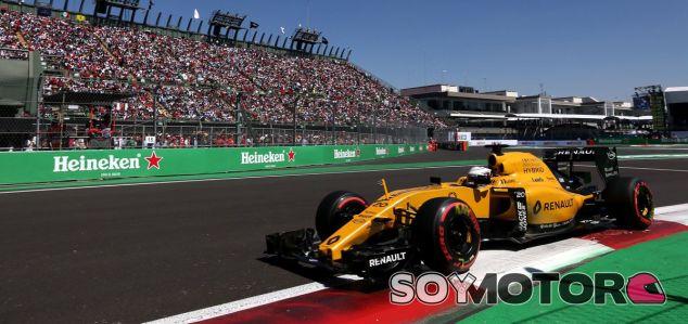 Magnussen durante el GP de México - LaF1