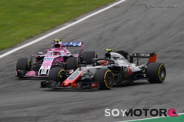 Kevin Magnussen y Esteban Ocon – SoyMotor.com
