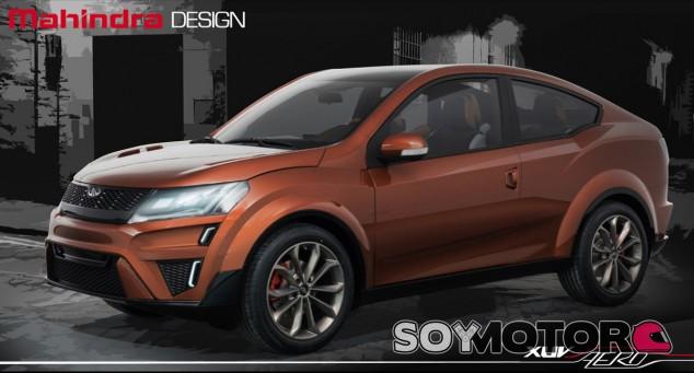 Esta es la nueva apuesta de Mahindra en el segmento de los crossover - SoyMotor