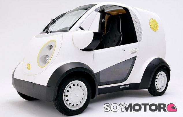Este es el particular coche eléctrico de Honda construido mediante la impresión en 3D - SoyMotor