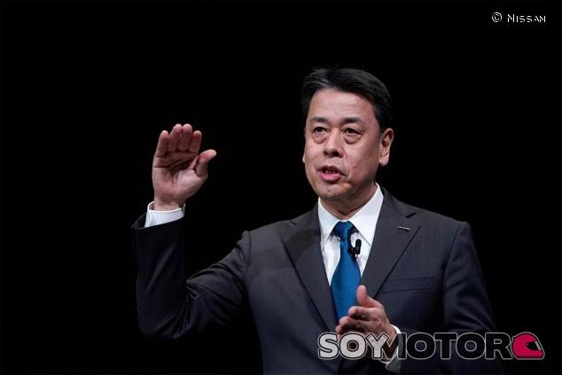 Makoto Uchida, director ejecutivo de Nissan - SoyMotor.com
