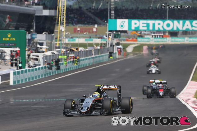 Escena del GP de Malasia - LaF1