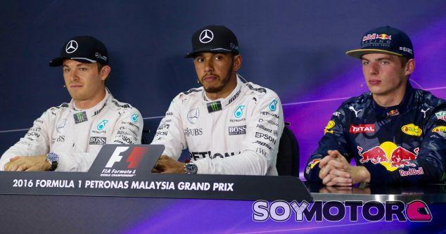 Rueda de prensa del GP de Malasia F1 2016: Sábado