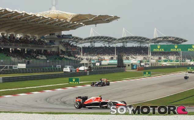 Jules Bianchi en el Gran Premio de Malasia - LaF1