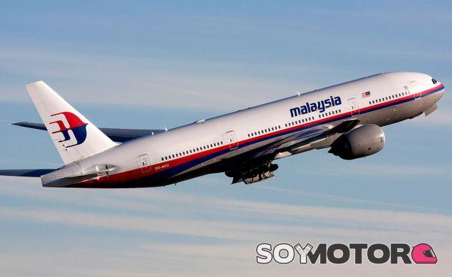 Avión de Malaysia Airlines - LaF1