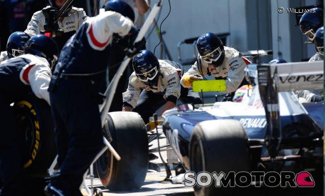 """Maldonado sobre los neumáticos: """"No son tan rápidos, pero son consistentes"""""""
