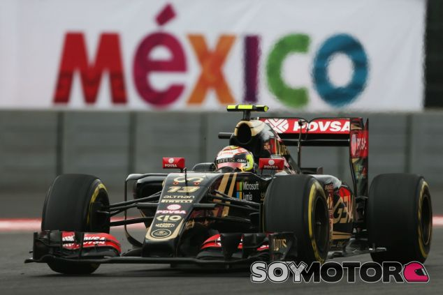 Maldonado, durante la clasificación del GP de México - LaF1
