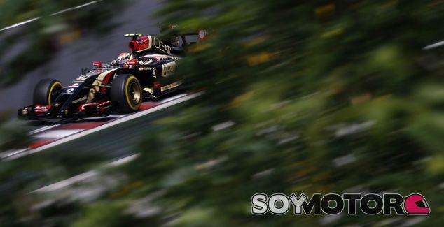Pastor Maldonado abandonó en los primeros minutos de la Q1 - LaF1.es