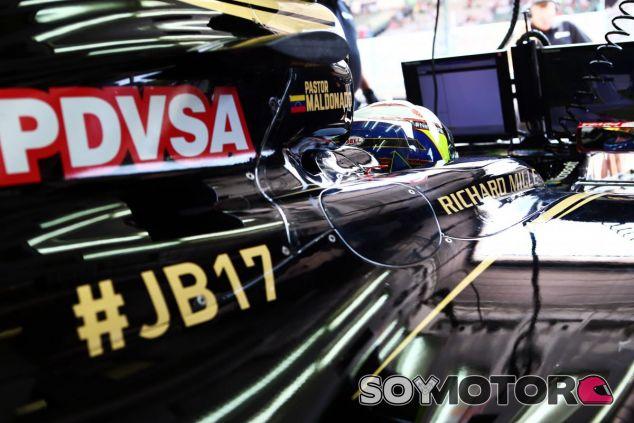 PDVSA no pagará a Lotus hasta que no esté asegurada la presencia de Maldonado en 2016 - LaF1