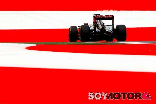 Pastor Maldonado durante el Gran Premio de Austria - LaF1