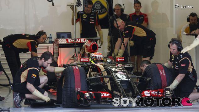 En Lotus afirman que van por el buen camino - LaF1