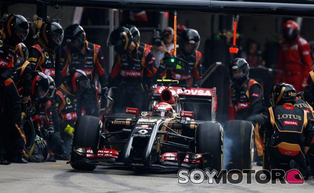 Pastor Maldonado en el Gran Premio de China - LaF1