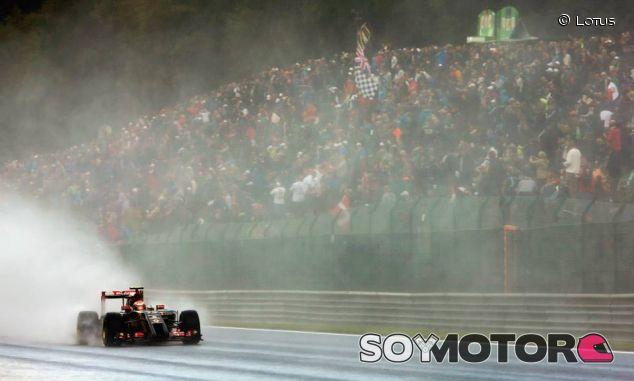 Pastor Maldonado en Spa-Francorchamps 2014 - LaF1