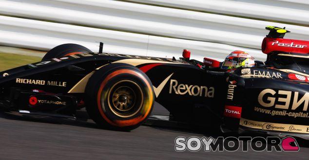 Lotus en el GP de Japón F1 2014: Viernes