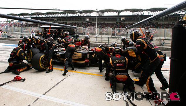 Lotus en el GP de Bélgica F1 2014: Previo