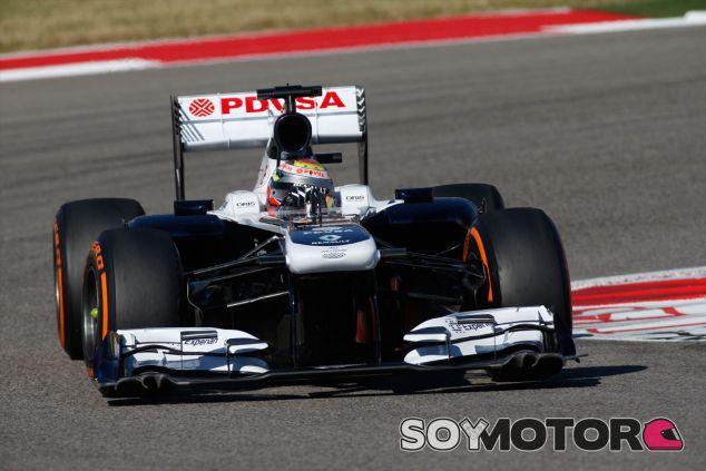 Pastor Maldonado durante el Gran Premio de Estados Unidos - LaF1