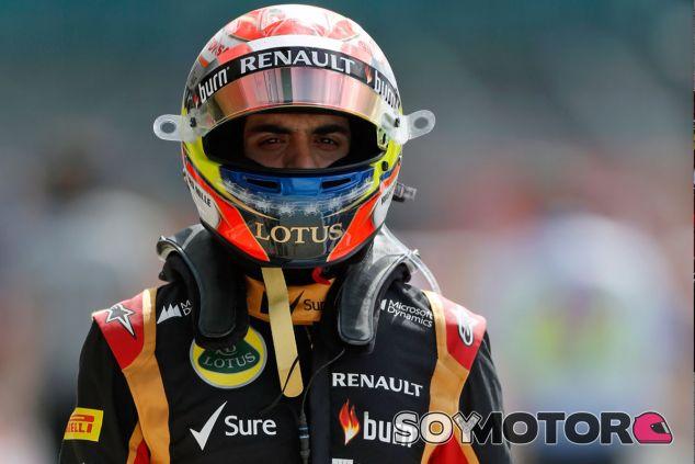 Pastor Maldonado en Silverstone - LaF1