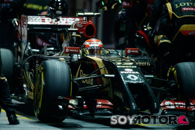 Pastor Maldonado en Singapur - LaF1