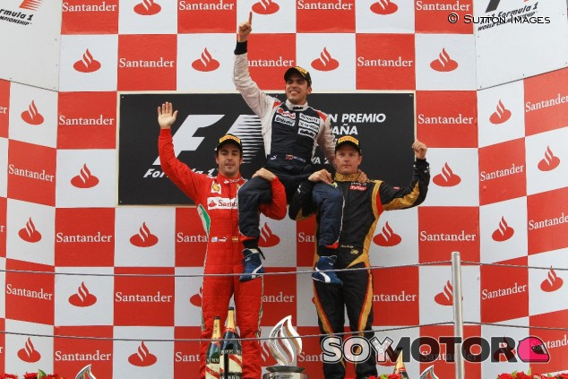 Pastor Maldonado en el GP de España F1 2012 - SoyMotor