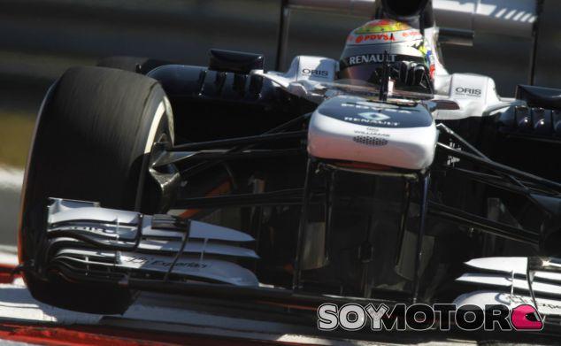 Pastor Maldonado con el Williams FW35 en Yeongam - LaF1