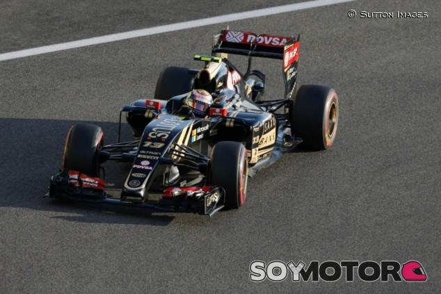 Maldonado con el dorsal 13 por última vez en el GP de Abu Dabi 2014 - SoyMotor.com