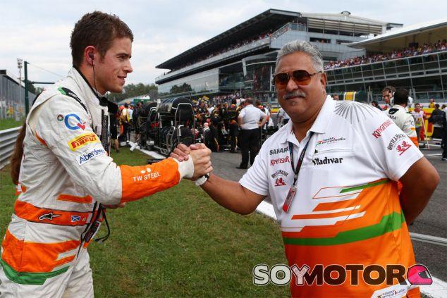 Adrian Sutil y Vijay Mallya - LaF1