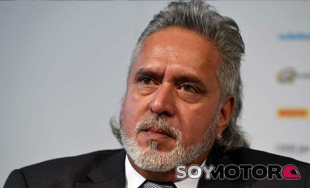 Vijay Mallya queda libre bajo una fianza de 770.000 euros - SoyMotor.com
