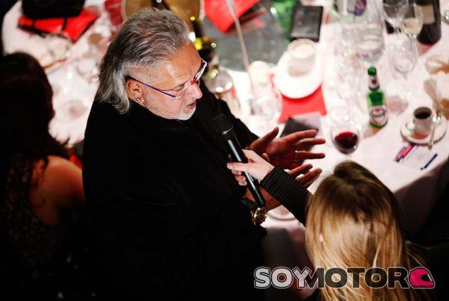 Vijay Mallya en Londres - SoyMotor.com