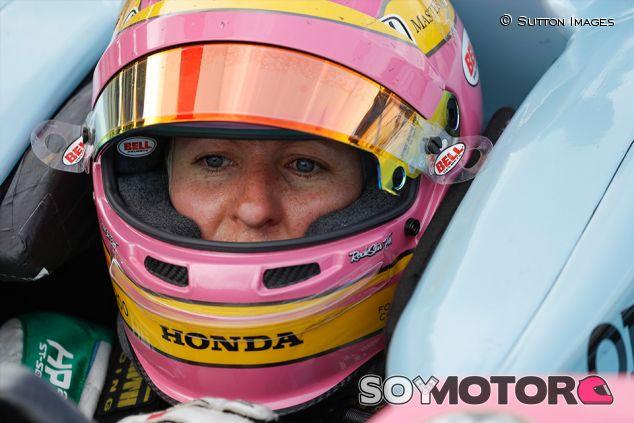 Pippa Mann en Indianápolis - SoyMotor.com