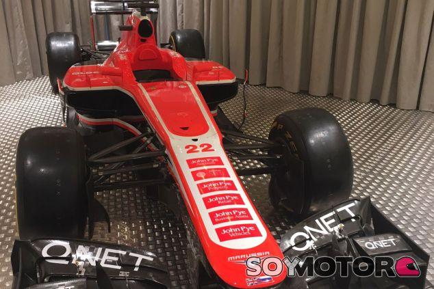 Marussia MR02 con el dorsal número 22 que Bianchi lució en 2013 - LaF1