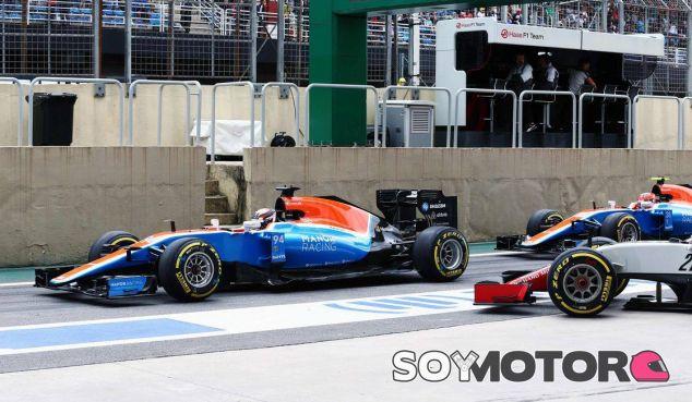 Pascal Wehrlein y Esteban Ocon en Brasil - LaF1