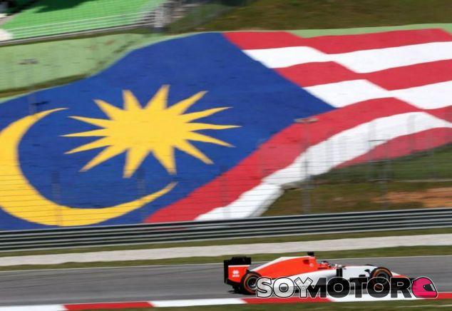 Will Stevens rodando con el Manor en Sepang - LaF1.es