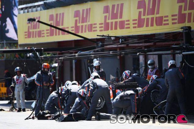 Manor termina la carrera con ambos coches - LaF1