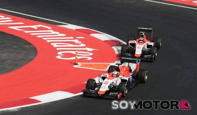 Manor en el Gran Premio de México - LaF1