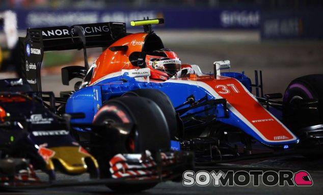 Esteban Ocon en Singapur - LaF1