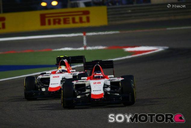 Will Stevens y Roberto Merhi en Baréin - LaF1