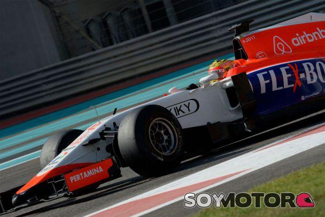 Manor ya está listo para la pretemporada en el Circuit de Barcelona-Catalunya - LaF1
