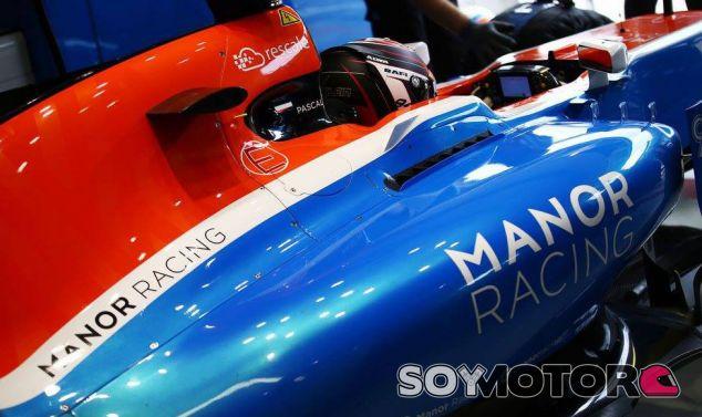 Manor en el GP de Brasil de 2016: viernes
