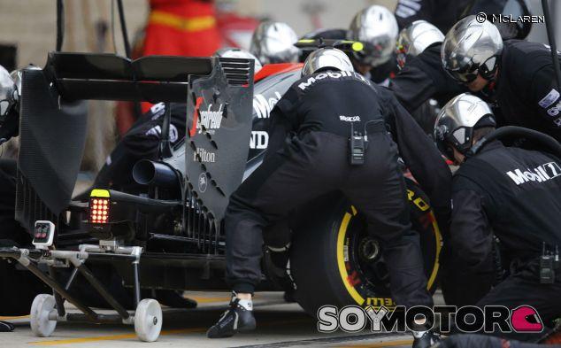 McLaren MP4-30 en el GP de Estados Unidos - LaF1