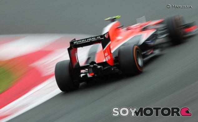 Marussia en Silverstone