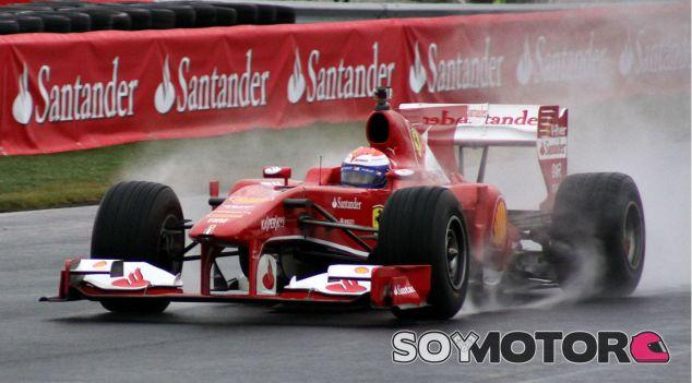 Marc Gené ayer con el Ferrari F10 en el Rudskogen Motorfestival - LaF1