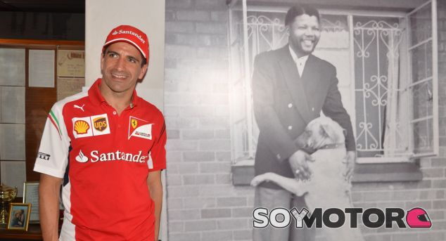 Marc Gené visitó la casa de Nelson Mandela