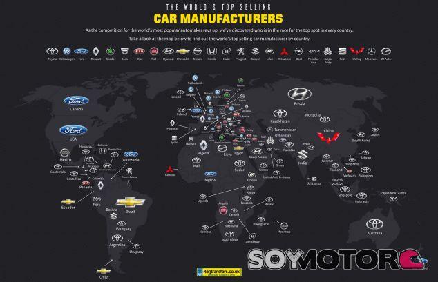 Marcas por país - SoyMotor.com