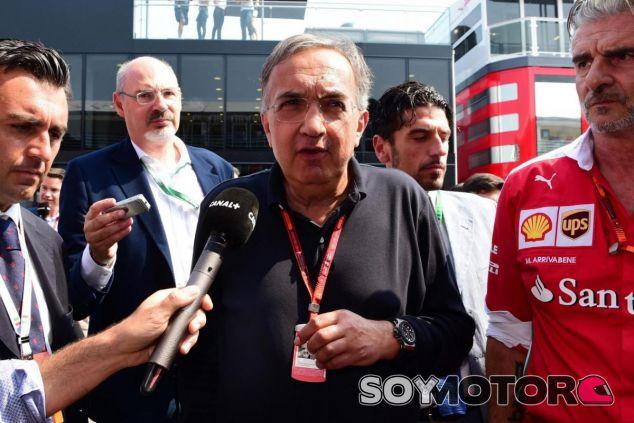 Marchionne dejará la presidencia de Ferrari a finales de 2018 - SoyMotor.com