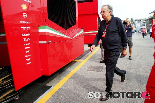 Marchionne, dispuesto a apoyar la compra de la F1 por los equipos - SoyMotor