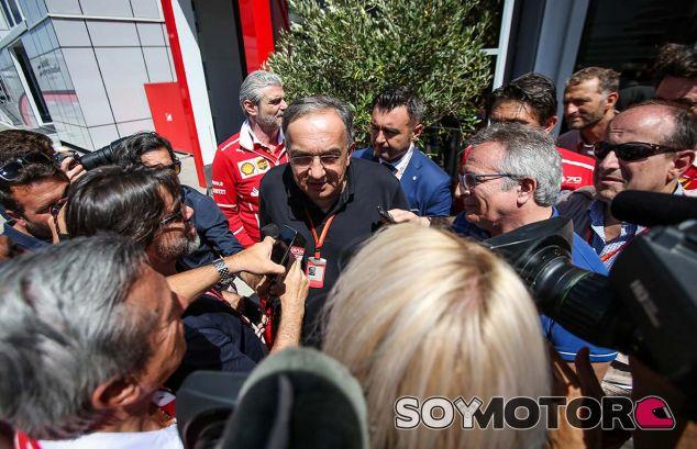 Sergio Marchionne en Hungaroring - SoyMotor.com