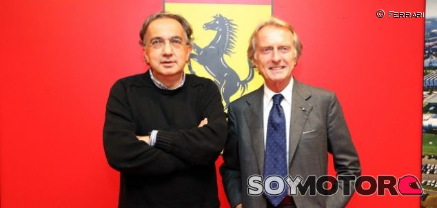 Sergio Marchionne y Luca di Montezemolo - LaF1