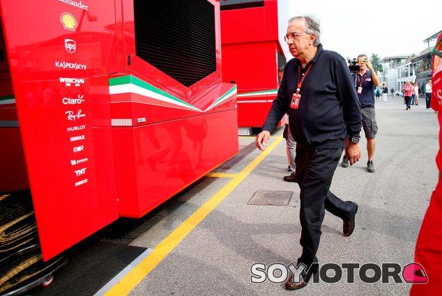 Sergio Marchionne en Monza - SoyMotor.com