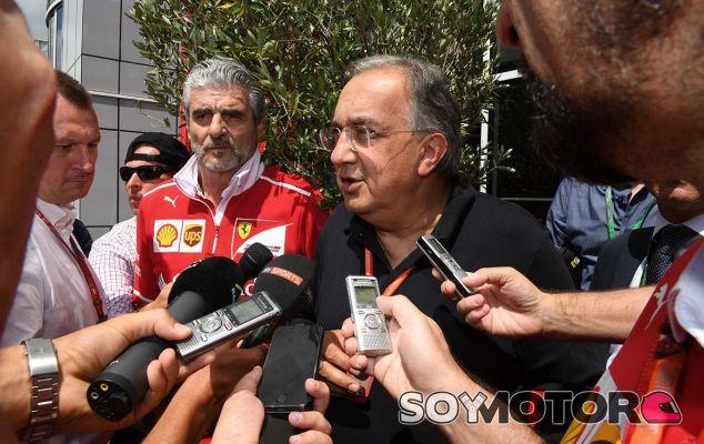 "Marchionne: ""Si Vettel quiere quedarse, le vamos a renovar"" - SoyMotor.com"